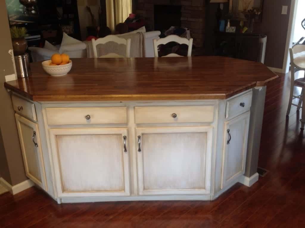 Diy home improvement ikea butcher block countertops for Butcher block installation
