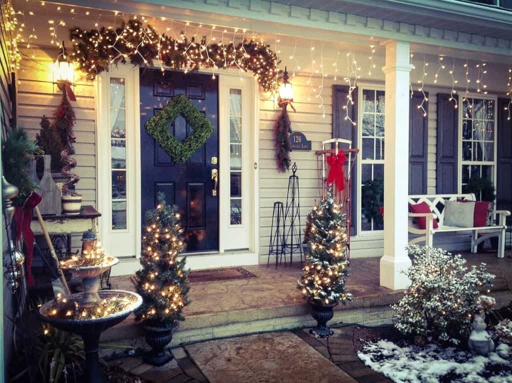 Holiday front porch, Snazzy Little Things
