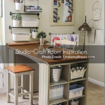 Inspiration File: Studios, Woodshops & Storage