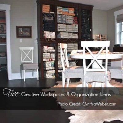 Inspiration File: Studios & Workspace Organization