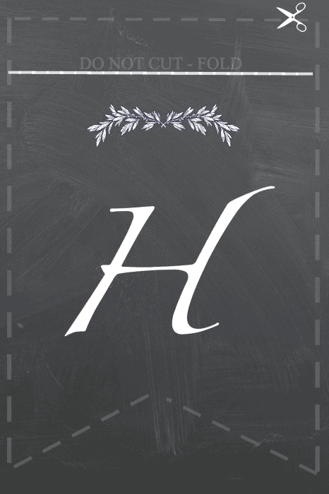 H for Gather