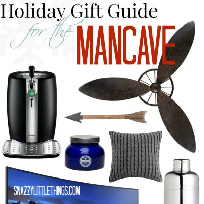 Holiday Gift Guide for the Mancave