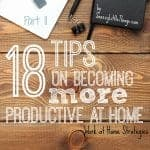 Part II: Work at Home Strategies