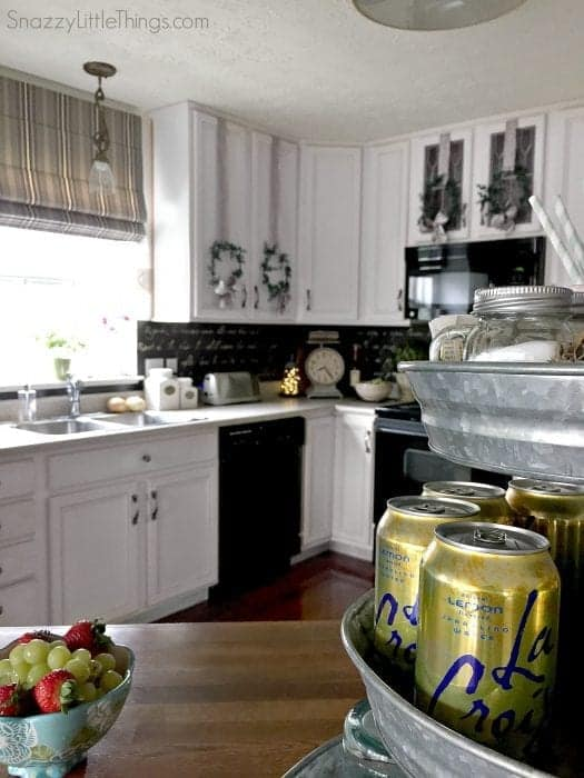 Kitchen Summer Home Tour @SnazzyLittleThings