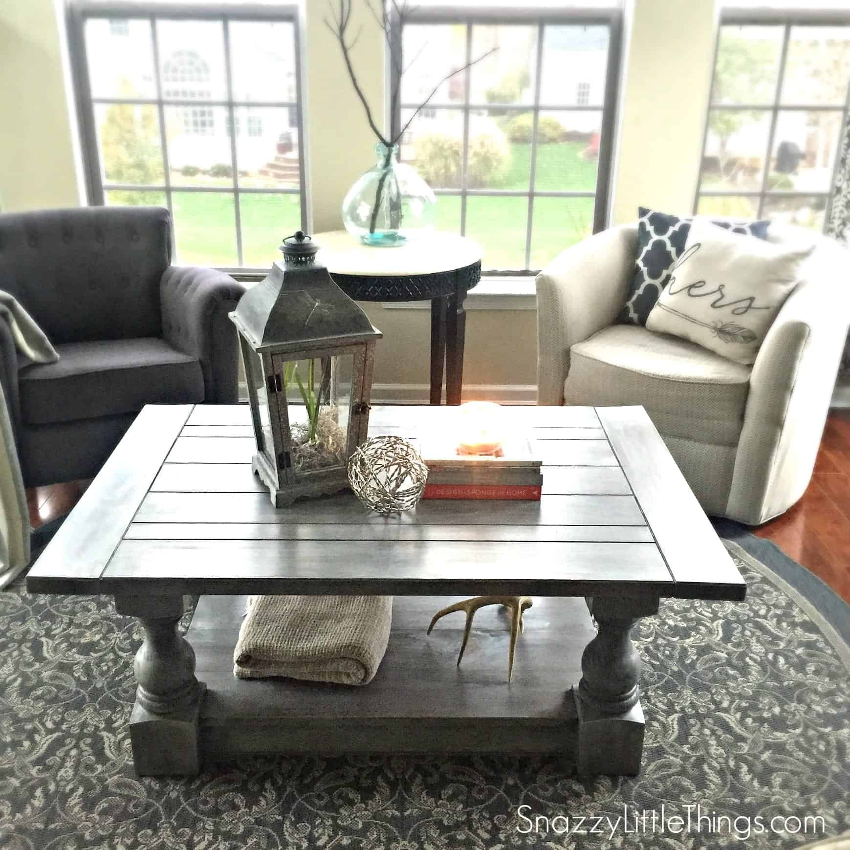 Coffee Table Free Plans 3