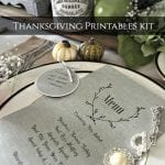 …dress up your table with freebies