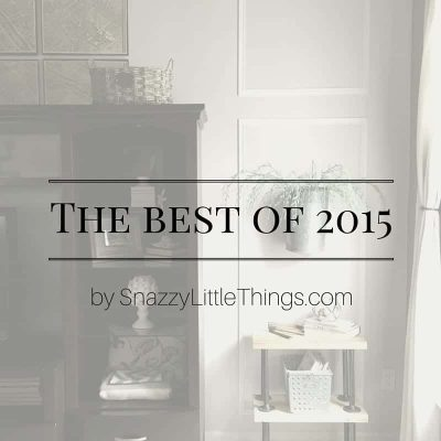 Best of 2015 by SnazzyLittleThings.com