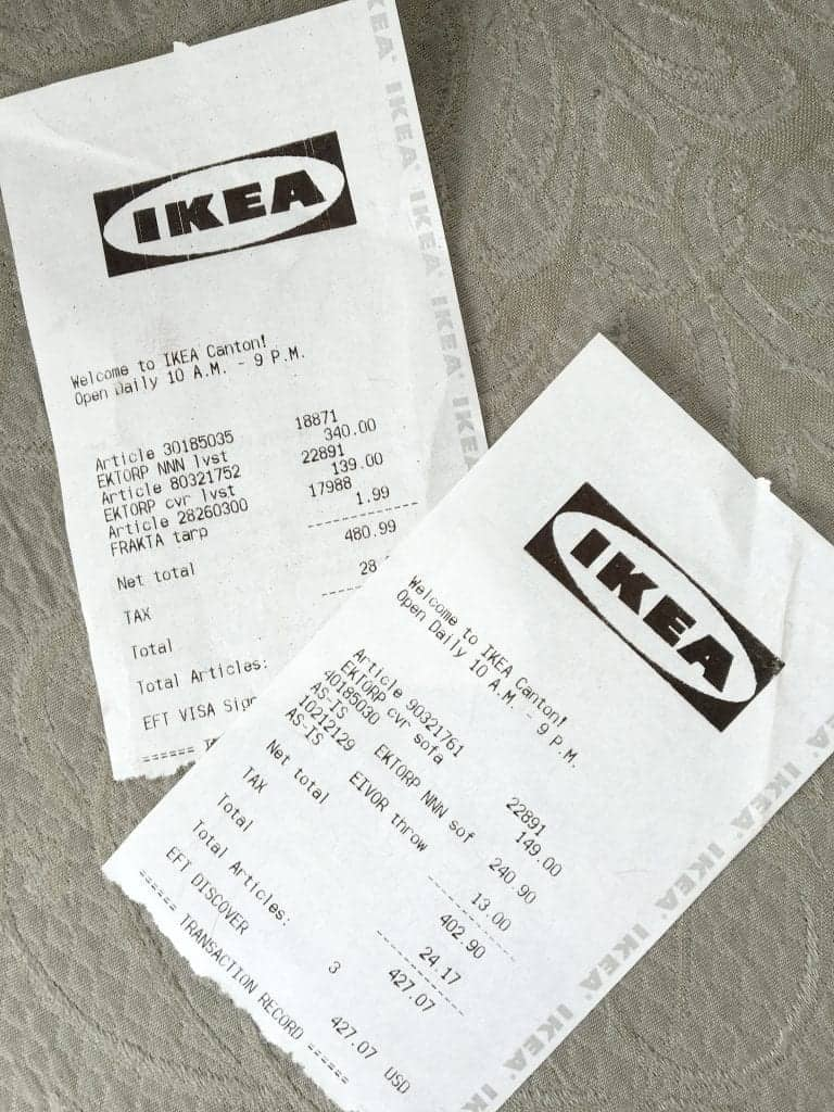 5 Reasons to Love Ikea Ektorp Couches Receipt