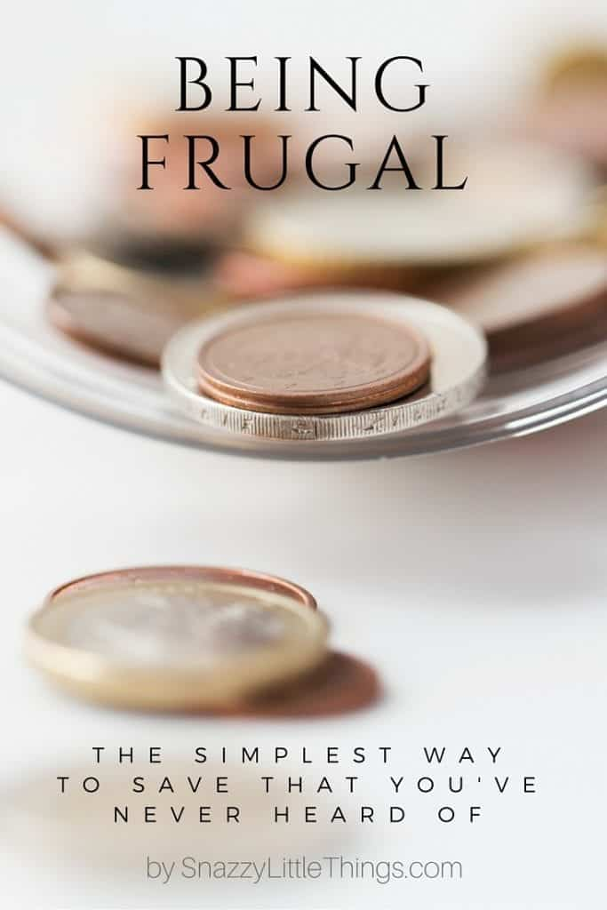 BEING FRUGAL A SIMPLE WAY TO SAVE (2)