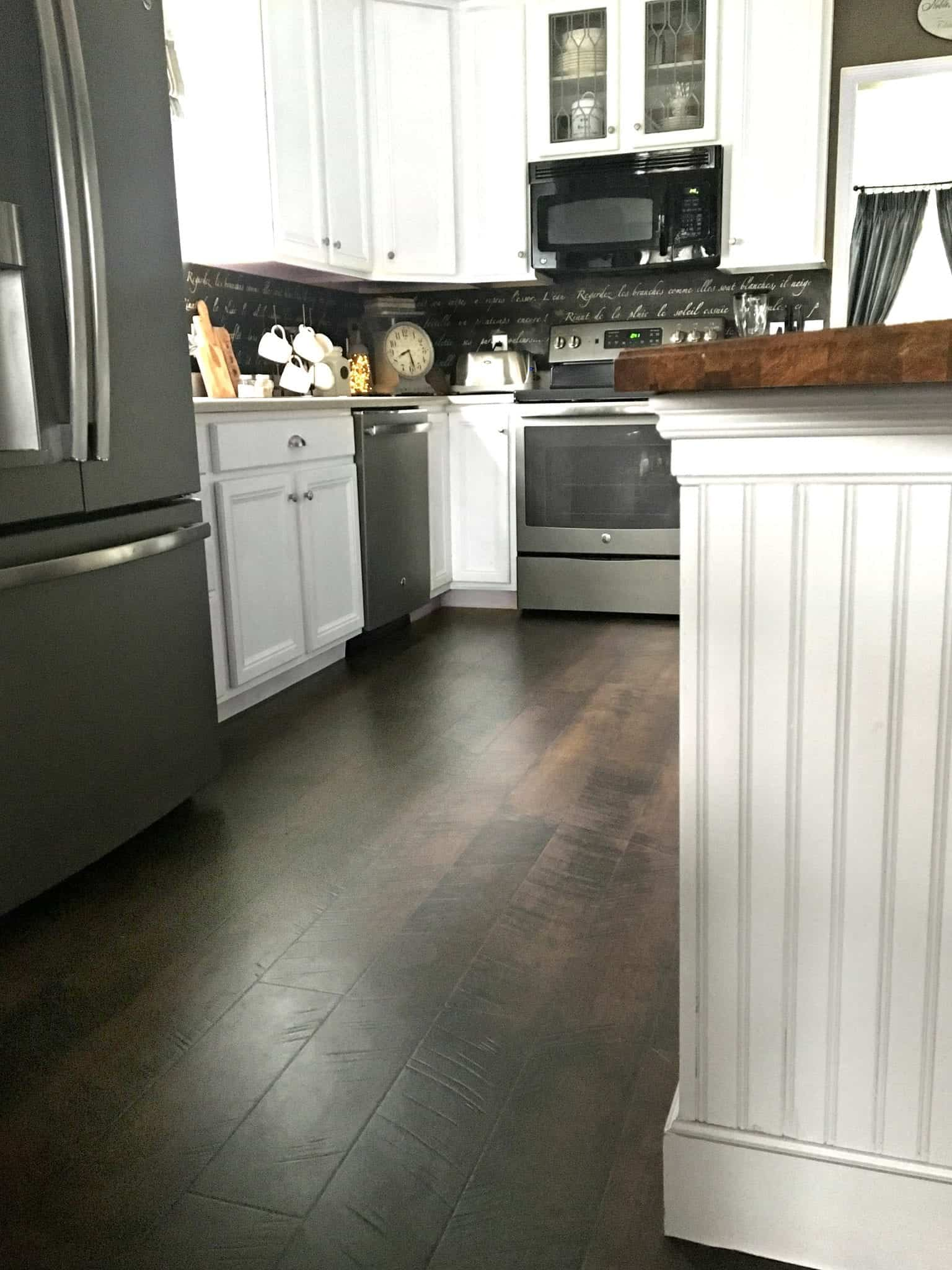 Pergo Flooring: Our Kitchen REVEAL!!