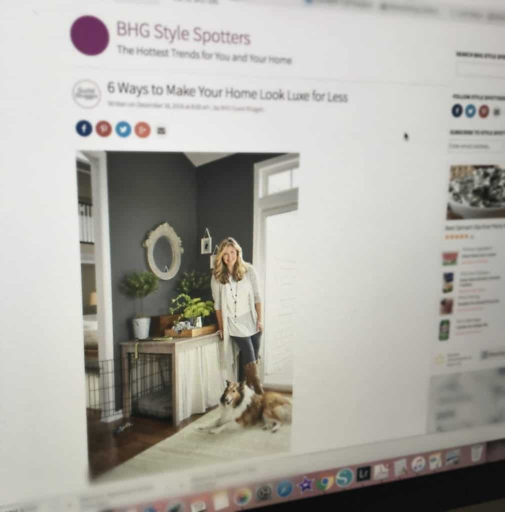 Better Homes and Gardens Style Spotter Article online view