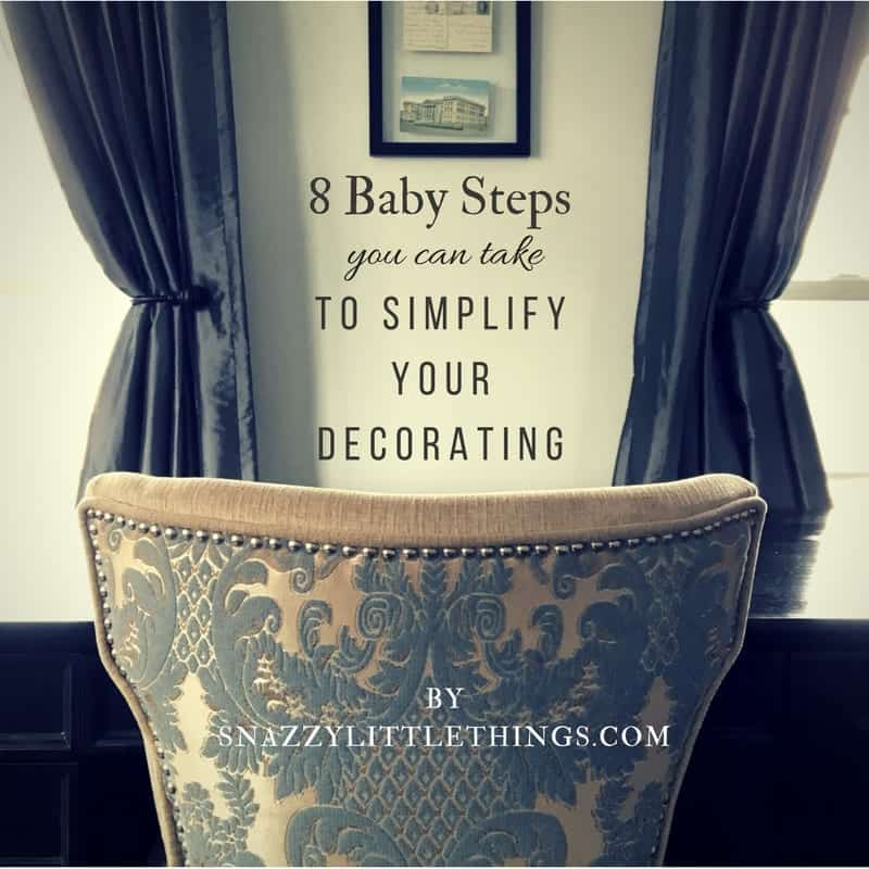 8 Baby Steps To Simplify Your Home View of Office