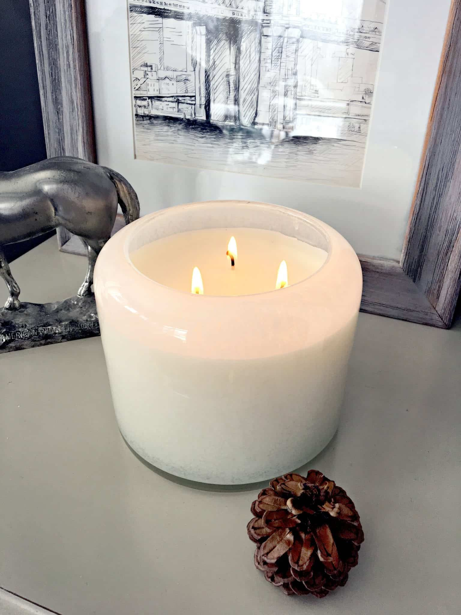 Winter Home Tour 2017 Chesepeake Bay 3 Wick Candle